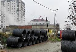 Son dakika... İstanbulda fabrika yangını
