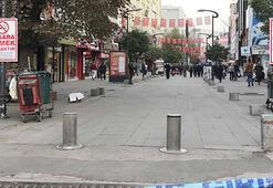 Karabükün en yoğun caddesine 400 kişi sınırlaması