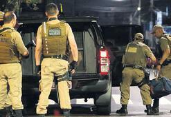 Otomatik silahlı soyguncularla çatışma