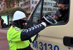 Fatihte toplu taşıma araçlarına koronavirüs denetimi
