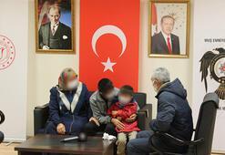 Muşta ikna edilen PKKlı ailesiyle buluşturuldu