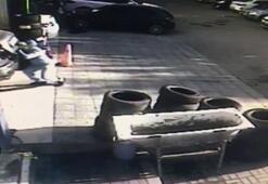 Kolombiya çetesi, otomobilin lastiğini patlatıp 253 bin 500 lirayı çaldı