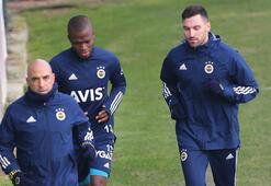 Son dakika - Fenerbahçede Valencia ve Sinan Gümüş idmana çıktı