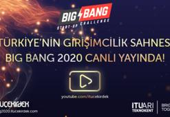 Yükselen girişimlerin sahnesi Big Bang Start-Up Challenge başlıyor