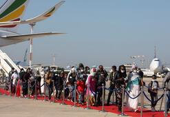 Etiyopyadan 316 Yahudi göçmen İsraile getirildi