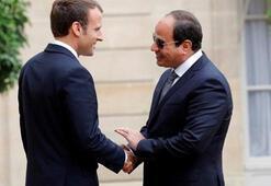 Fransa Cumhurbaşkanı Macron, Pariste Mısır Cumhurbaşkanı Sisi ile görüşecek