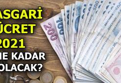 Asgari ücret 2021 ne kadar olacak Asgari ücret 2021 brüt - net zammı açıklandı mı