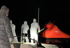Egede Türk kara sularına geri itilen 44 sığınmacı kurtarıldı