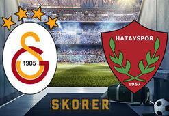 Galatasaray - Hatayspor maçı ne zaman, hangi kanalda Galatasaray - Hatayspor maçı muhtemel 11leri...