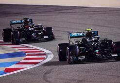 F1 Sakhir Grand Prixsinde pole pozisyonu Bottasın