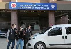 Türk Bayrağını yakan kişi hastanede gözlem altına alındı