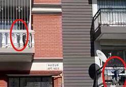 Pandemi nedeniyle sokağa çıkamayan çocukların balkon arkadaşlığı