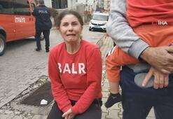 5 yaşındaki çocuğun yaktığı evi annesi gözyaşı içinde izledi