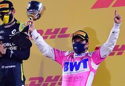 Formula 1de Perez, Sakhir Grand Prixsinde ilk yarışını kazandı