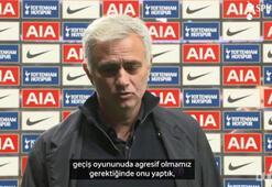 Jose Mourinhodan Arsenal galibiyeti sonrası açıklamalar...