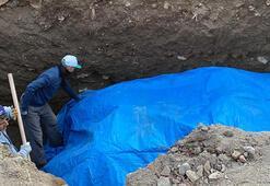 İznikte inşaat temel kazısında tarihi esere rastlandı
