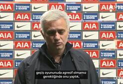 Jose Mourinho, Arsenal karşısındaki kusursuz performanstan çok memnun