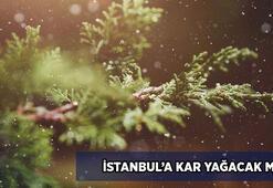 İstanbula kar yağacak mı Meteorolojiden son dakika İstanbul hava durumu