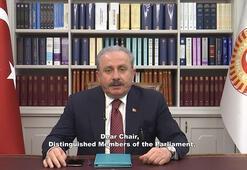 TBMM Başkanı Şentop GDAÜPA Daimi Komite Toplantısına katıldı