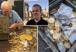 Milyon dolarlık hazine sandığı bulmuştu... Kimliği açıklandı