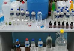 Kütahyada 23,5 litre sahte içki ele geçirildi
