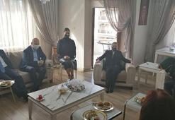 İçişleri Bakanı Süleyman Soylu, Muğlada taziye ziyaretinde  bulundu
