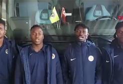 Menemensporun Afrikalı oyuncularından Weboya destek...