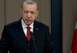 Cumhurbaşkanı Erdoğan Bakü ziyareti öncesi gazetecilerin sorularını yanıtladı