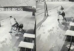 Alkollü hırsızın çaldığı bisikletle imtihanı