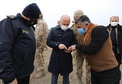 Bakan Soylu, Ağrı Dağı eteğinde yaşayan vatandaşlarla telefonda sohbet etti