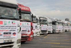 81 ilden Suriye'ye insani yardım