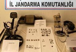 Çanakkalede tarihi eser operasyonu 4 kişi gözaltına alındı