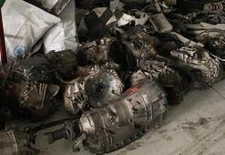Kısıtlamalarda 600 bin liralık malzeme çaldılar