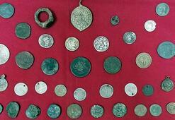 İzmirde ele geçirildi Roma dönemine ait...