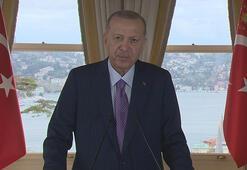 Cumhurbaşkanı Erdoğandan Türkmenistanın daimi tarafsızlığının 25. yıldönümü mesajı