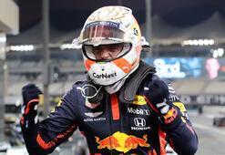 F1 Abu Dabi Grand Prixsinde pole pozisyonu Max Verstappenin