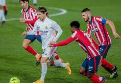 Real Madrid, Atletico Madridi devirdi Zidane rahat nefes aldı