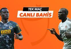Alanyaspor - Beşiktaş maçı Tek Maç ve Canlı Bahis seçenekleriyle Misli.com'da