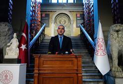 Bakan Ersoy, Kybele heykelinin tanıtımını yaptı