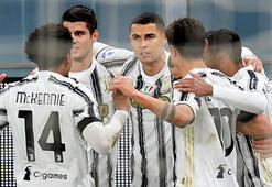 Juventus, Genoayı Cristiano Ronaldonun penaltı golleriyle yendi