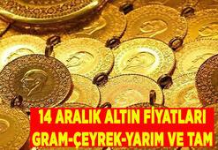 SON DAKİKA || 14 Aralık altın fiyatları canlı takip: Bugün gram, çeyrek, yarım ve tam altın fiyatları ne kadar oldu, kaç lira