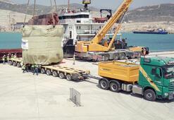 Böyle getirildi 169 ton...