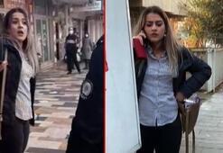 Polise Artistliğiniz kime diyen kadının yeni vukuatları ortaya çıktı