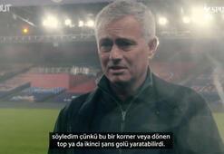 Jose Mourinho, Crystal Palace maçı sonrası açıklamalarda bulundu