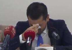 BB Erzurumspor Başkanı Hüseyin Üneş gözyaşlarını tutmadı İstifayı açıkladı...