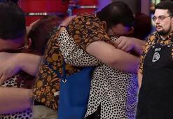 MasterChefte duygusal anlar Annesini görünce gözyaşlarına boğuldu