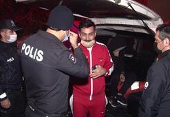 Eve kurşun yağdıran saldırgan polisleri tehdit etti