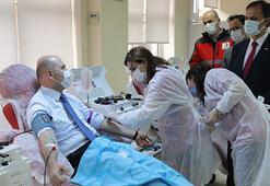 Son dakika... Koronavirüsü atlatan Bakan Soylu immün plazma bağışı yaptı