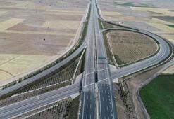 Ankara-Niğde Otoyolunun tamamı yarın hizmete girecek