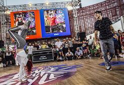 Yetenekli dansçılar Red Bull Dance Your Style'da yarıştı